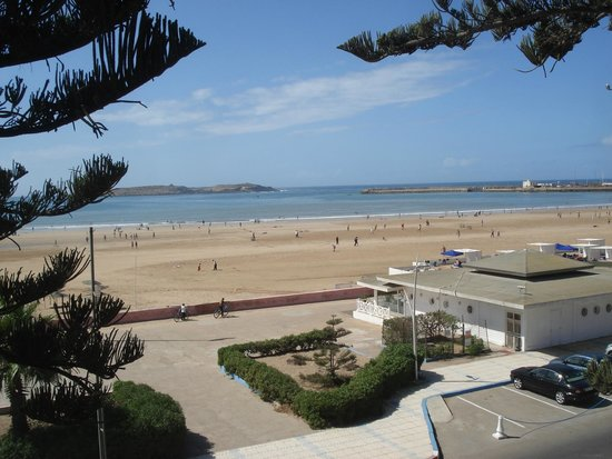 Hotel Miramar: View from beach front room.