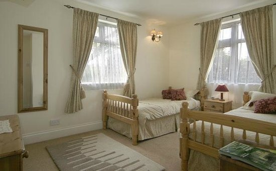 Langford, UK: Family Suite - Twin Room