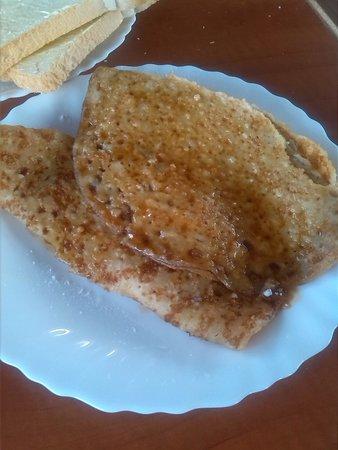 Vita Nova: pancakes, riquisimos!!!
