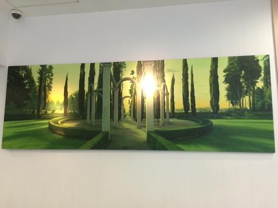 NH La Avanzada: Impressive art displayed