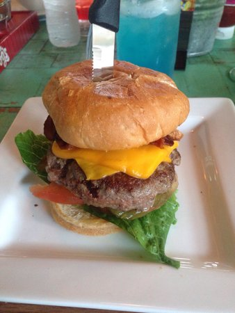 Senor Frog's St Thomas : Best burger on the island