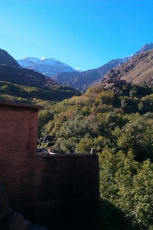 Riad Atlas Toubkal : The view from the room