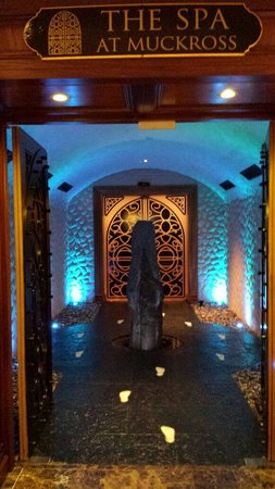 The Spa at Muckross Park Hotel: Entrance of the Spa