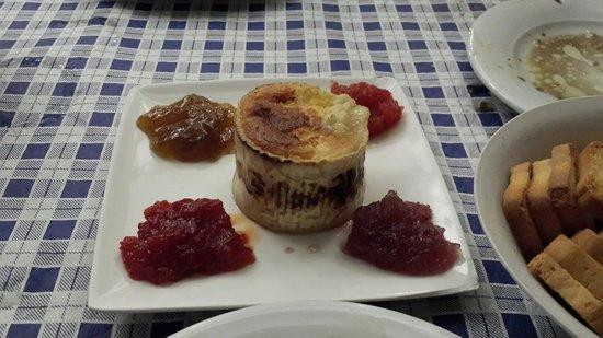 Restaurante Meson La Esquinita: Queso al horno