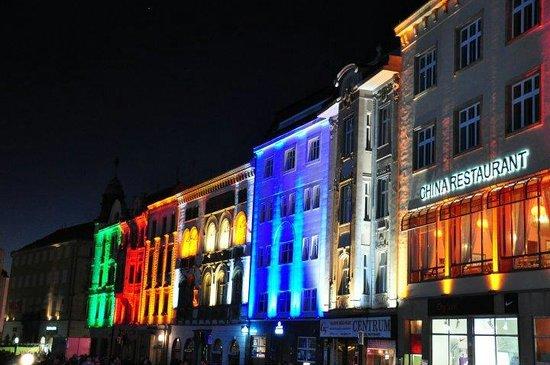 Olomouc Town Hall: Světelná show