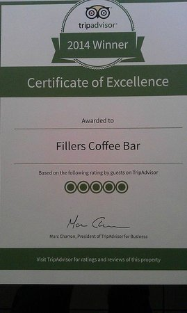 Fillers Coffee Bar: Cool.
