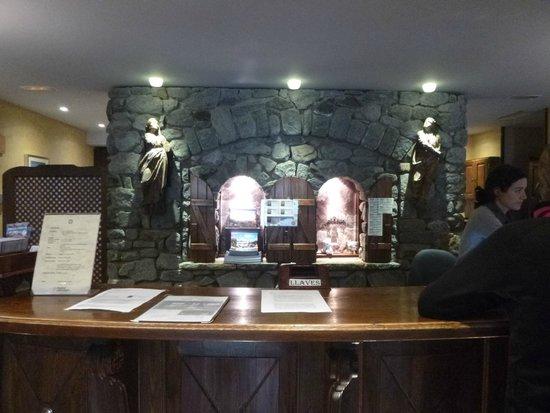 Hospital de Benasque: réception de Hotel