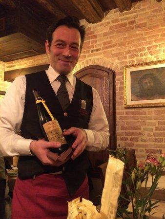 Ristorante Antica Sacrestia : wine