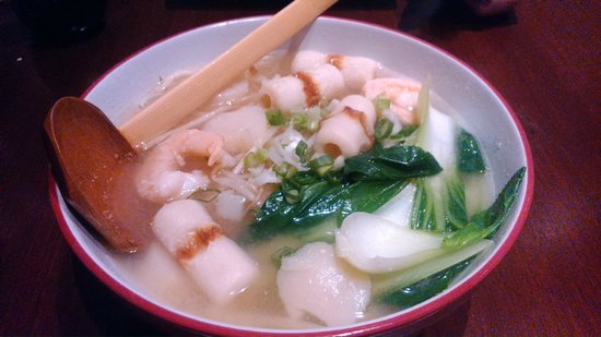 Seafood Miso Soup with Udon Noodles - Yum - Foto di OMBA Restaurant ...
