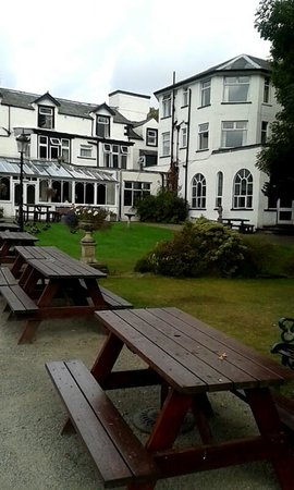 The Derwentwater Hotel: Lovely room at the back of hotel