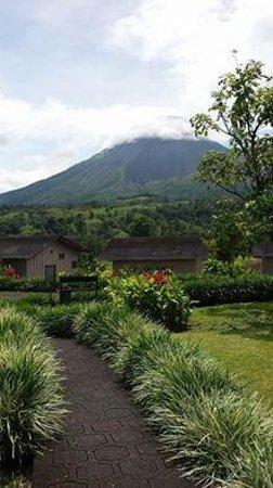 Hotel Montaña de Fuego Resort & Spa: View from our porch!