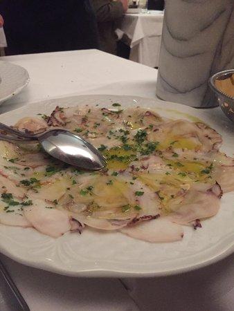 Ristorante Alba D'Oro: Polipo insalata