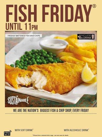 The sir daniel arms swindon restaurantbeoordelingen for Why do catholics eat fish on friday