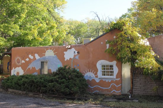 Casita Chamisa: Part of the house
