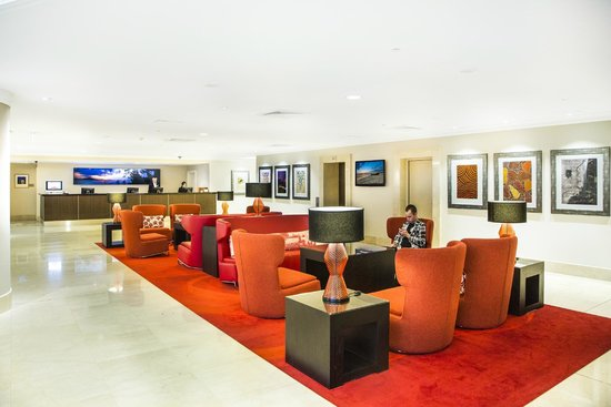 Rydges World Square Sydney Hotel: Lobby providing FREE Wifi