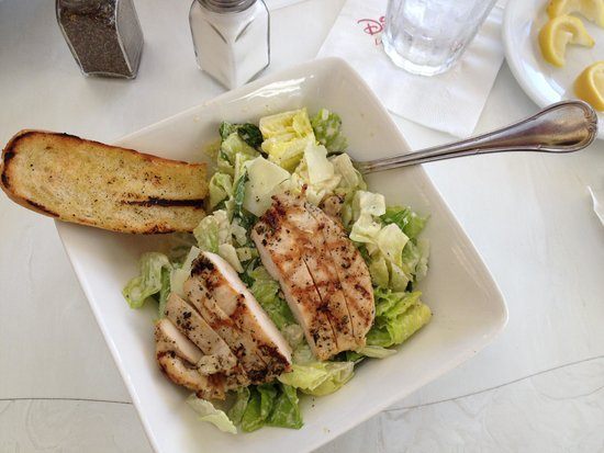 Caesar Salad With Chicken Picture Of Tonys Town Square Restaurant