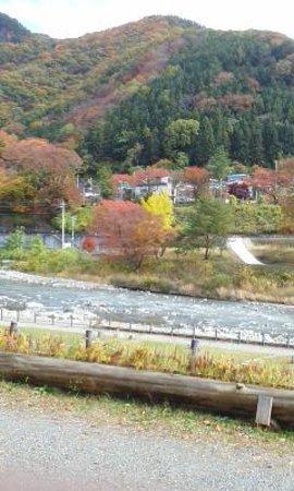 Gunma Prefecture, Japan: 川沿いの景色