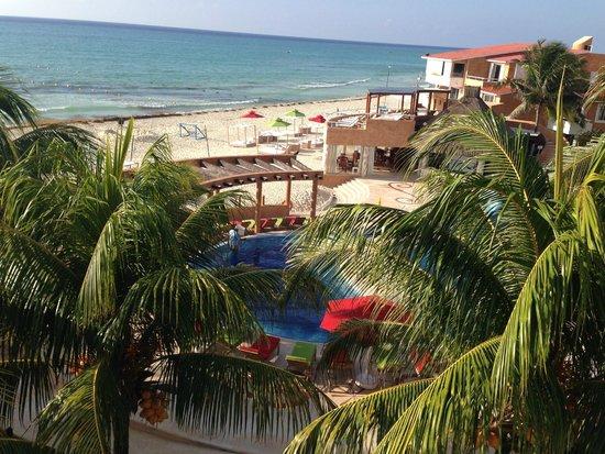 Sunset Fishermen Spa & Resort: View from balcony