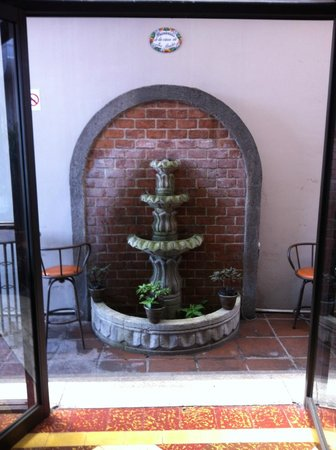 Hostel Casa Colon: Fountain