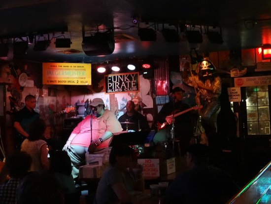 The funky pirate blues club new orleans la