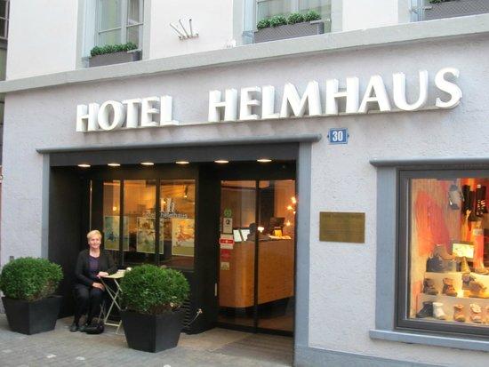 Hotel Helmhaus: hotel