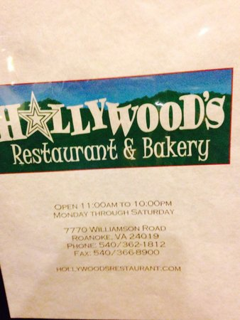 Hollywood's Restaurant & Bkry: Our favorite restaurant