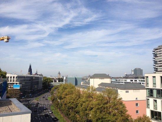 Novotel Köln City: View from top floor spa