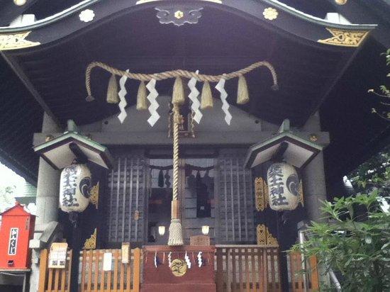 Tsukudo Shrine: 拝殿