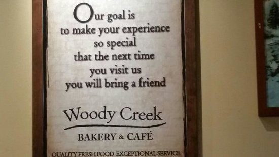 Woody Creek Bakery & Cafe