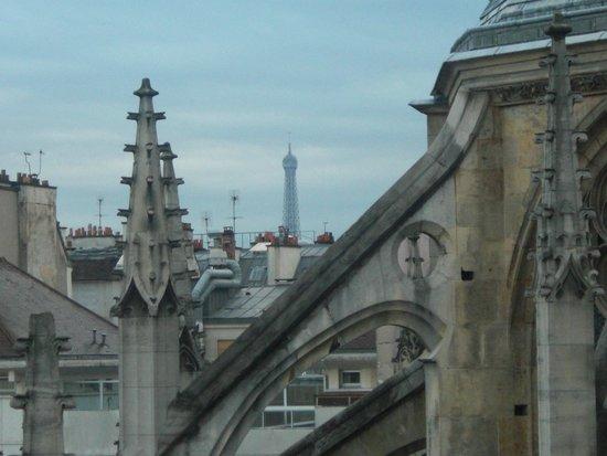 Henri IV Rive Gauche Hotel: Eiffel Tower
