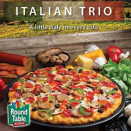 Where Is Round Table Pizza.Italian Trio Is Delicious Picture Of Round Table Pizza San Jose