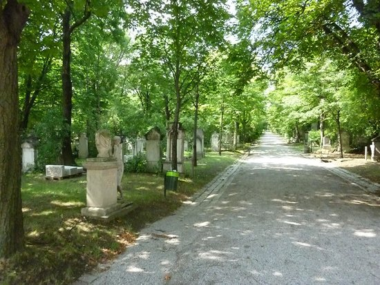 Friedhof St. Marx: 墓地の中