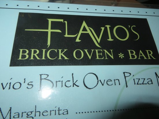 Flavio's Brick Oven and Bar : We loved going here