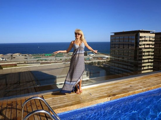 Bassejn Picture Of Ac Hotel Barcelona Forum By Marriott Barcelona