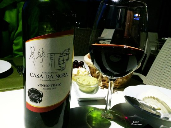 Casa Da Nora: House wine