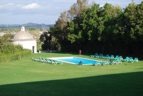 Pousada de Condeixa-Coimbra: View from the room.