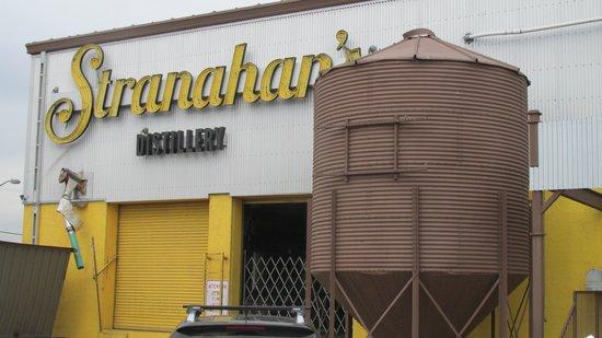 Stranahan's Colorado Whiskey Tour: outside view