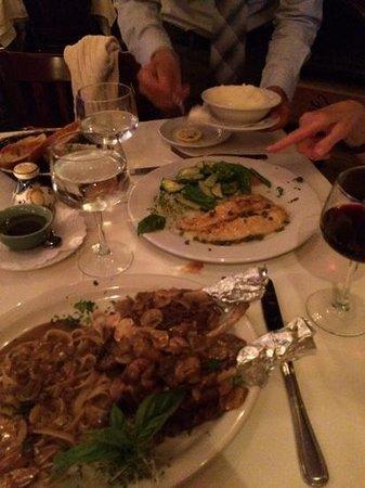 Rustico Italiano Restaurant : our main courses
