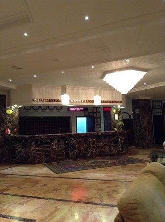 Avanos Hotel Yiltok: Recepcion