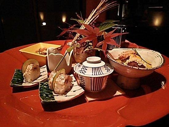 Hakone Suishoen : 前菜です。お食事は最高に美味しかったです☆