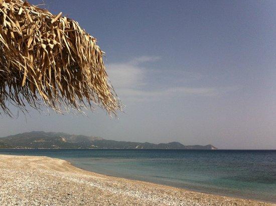 Mourteri, Hellas: the beach
