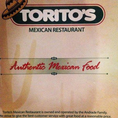 Torito's Mexican Food: Toritos