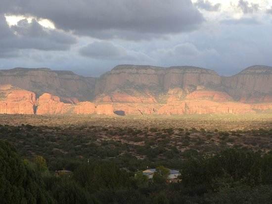 Sedona Mago Retreat: Views are spectacular from almost everywhere!