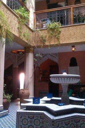Jnane Mogador courtyard