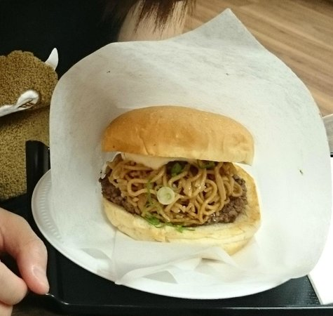 Burger and Cafe Joy: Yakisoba Burger