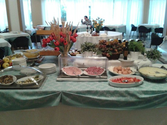 Hotel Alcide: Buffet colazione