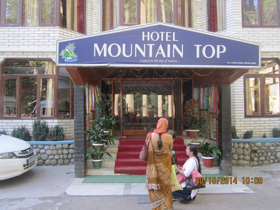 Hotel Mountain Top: Front of the hotel