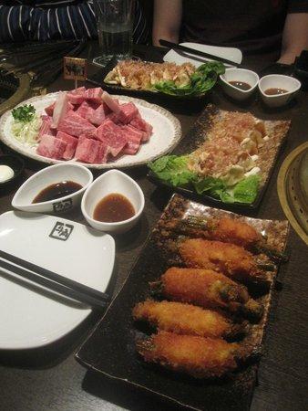 Gyu-Kaku Japanese BBQ Restaurant: All the amazing food