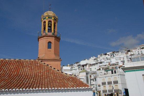 La Taberna de Oscar: Zicht op kerktoren