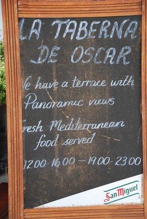 La Taberna de Oscar: Taberna Oscar